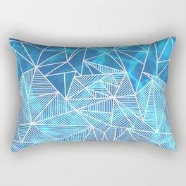 Blissful Rays Rectangular Pillow