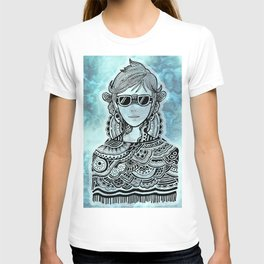 Cool Guy in Marble T-shirt