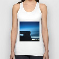 rio Tank Tops featuring Rio Grande by Andrew C. Kurcan