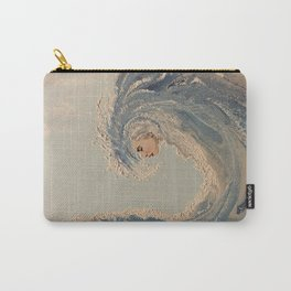 Ocean wave woman Serene Force nature  Carry-All Pouch