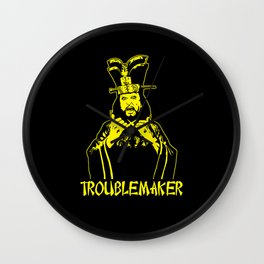 Lo Pan is a troublemaker  Wall Clock