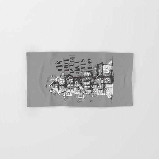 a humble residence Hand & Bath Towel