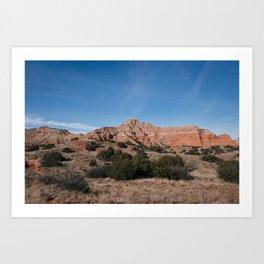 Palo Duro Canyon, Texas Art Print