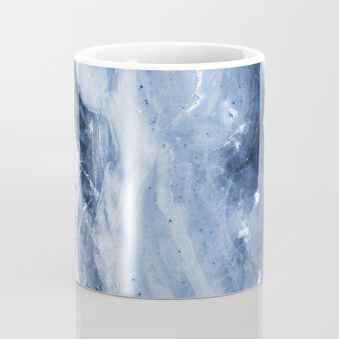 Marble Ice Indigo Coffee Mug