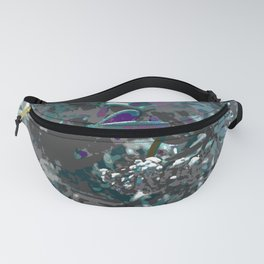 Forest first frost floral camouflage Fanny Pack