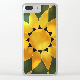 Autumn Sun Two Clear iPhone Case