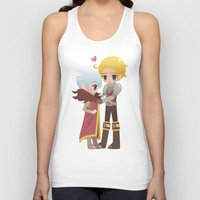 dragon age inquisition Tank Tops featuring Dragon Age - Cullen and Trevelyan by Choco-Minto