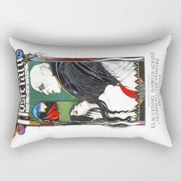 Nosferatu, Vintage Horror Movie Poster, color Rectangular Pillow