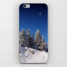 The Christmas Star iPhone & iPod Skin