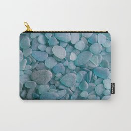 Japanese Sea Glass - Low Tide Blues II Carry-All Pouch