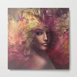fantasy woman composite Metal Print