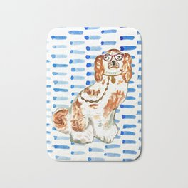REDHEAD IN GLASSES Bath Mat