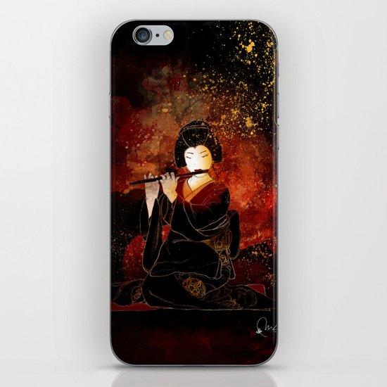 Oyasuminasai iPhone & iPod Skin