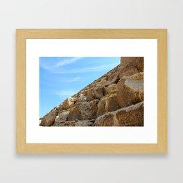 KHUFU II Framed Art Print