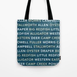 Coastal Dune Lakes of South Walton Tote Bag