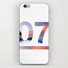07 Jersey iPhone & iPod Skin