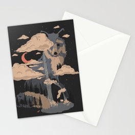 At the Foot of Fox Mountain... Stationery Cards