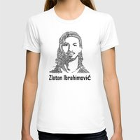 zlatan T-shirts featuring Zlatan  by christoph_loves_drawing