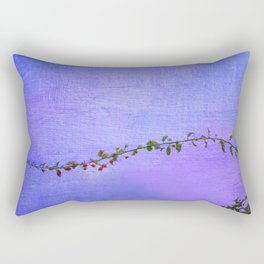 Las hojas que te recorren Rectangular Pillow