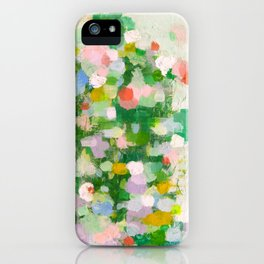 The green garden iPhone Case