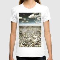 concrete T-shirts featuring Concrete Mind by Florin