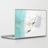 lizard Laptop & iPad Skins featuring Lizard by SEVENTRAPS