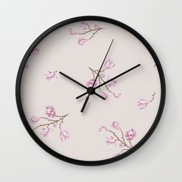 Almond's Blossoms Wall Clock