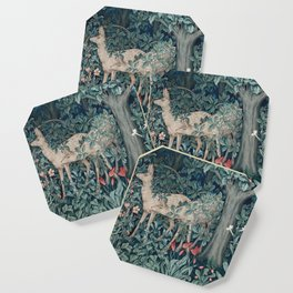 William Morris Forest Deer Coaster