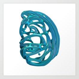 Abstract 3D Art Print