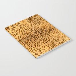 Brown Beige Leopard Animal Print Notebook