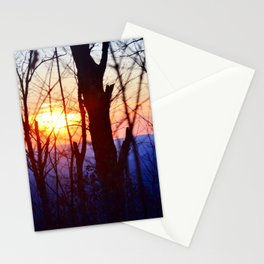 Sunset in the Ozarks Stationery Cards