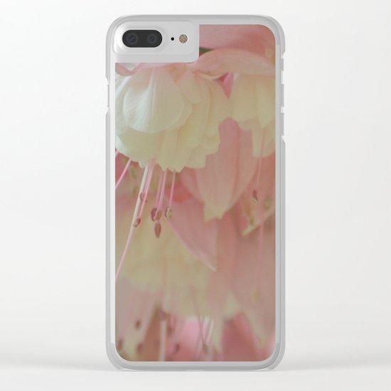 Subtle Fuchsia Clear iPhone Case