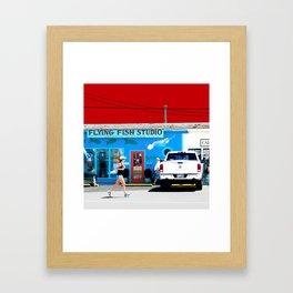 Cape May Framed Art Print