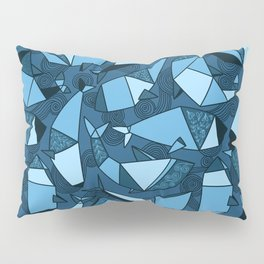 Origami whales Pillow Sham