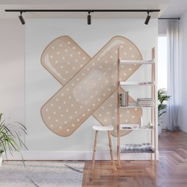 Get Well Bandaid Wall Mural
