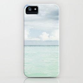 Emerald Waters iPhone Case