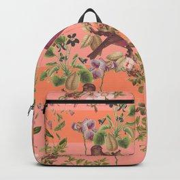 Vintage Botanic (Pink) Backpack