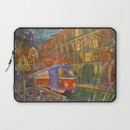 Night tram Laptop Sleeve