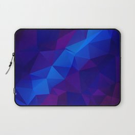 Abstract digital art polygon triangles Laptop Sleeve