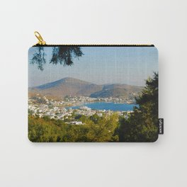 Patmos Island Greece - Bay View Carry-All Pouch