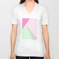 pastel V-neck T-shirts featuring Pastel by maybe you like