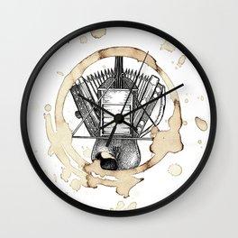 Coffee Stained Fais Do-Do-Louisiana Series Wall Clock