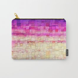 Pink Sea Mosaic Carry-All Pouch