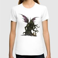 cthulu T-shirts featuring Elder God by CromMorc