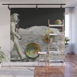 Moon Shot #collage Wall Mural
