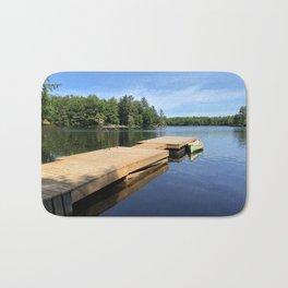 Dock on the Lake II Bath Mat