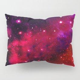 Pink Black Blue Pillow Sham