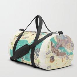Princess Bride Discovery Map Duffle Bag