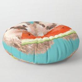 Love is Sharing Floor Pillow