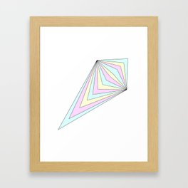 shard Framed Art Print
